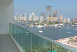 apartaments with view of the sea in Manga - Cartagena - Colombia